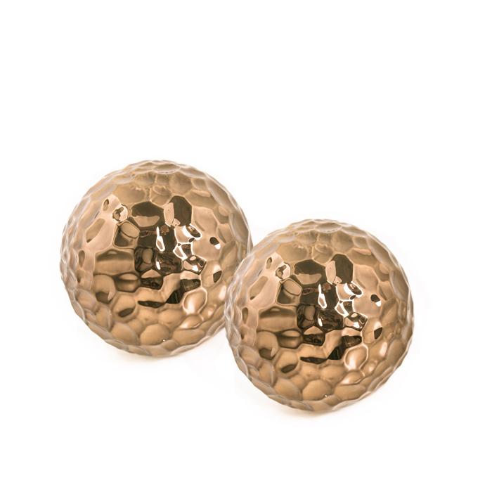 Bolas Decorativas Bronze