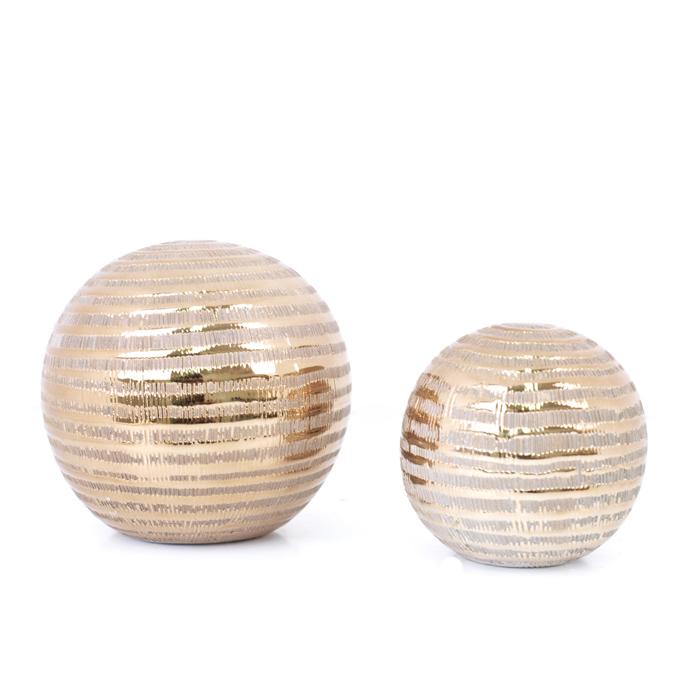 Bolas Decorativas Espiral