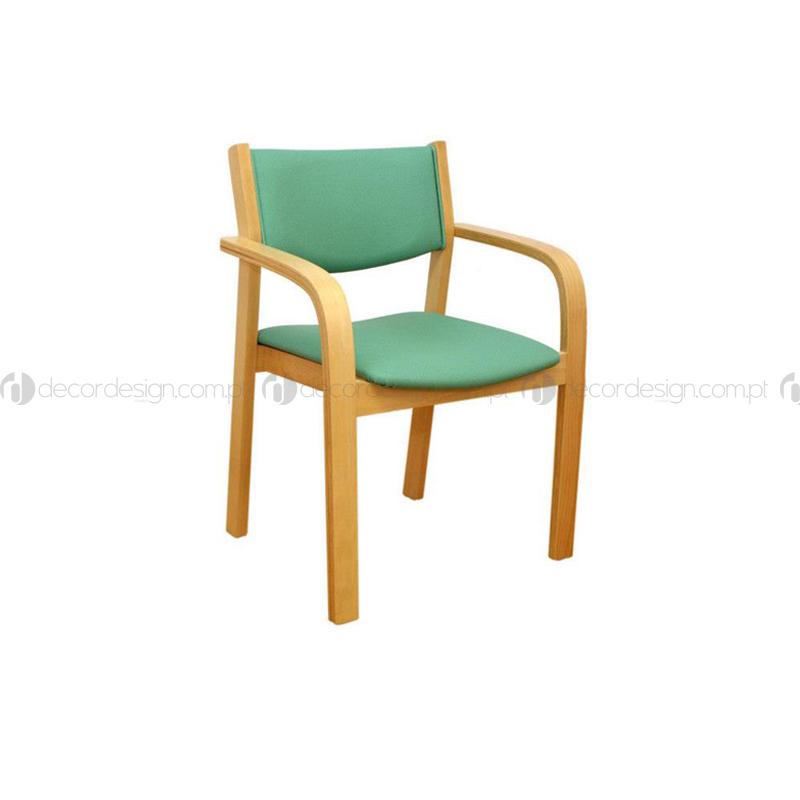 Cadeira Viana c/ Braços Curvos