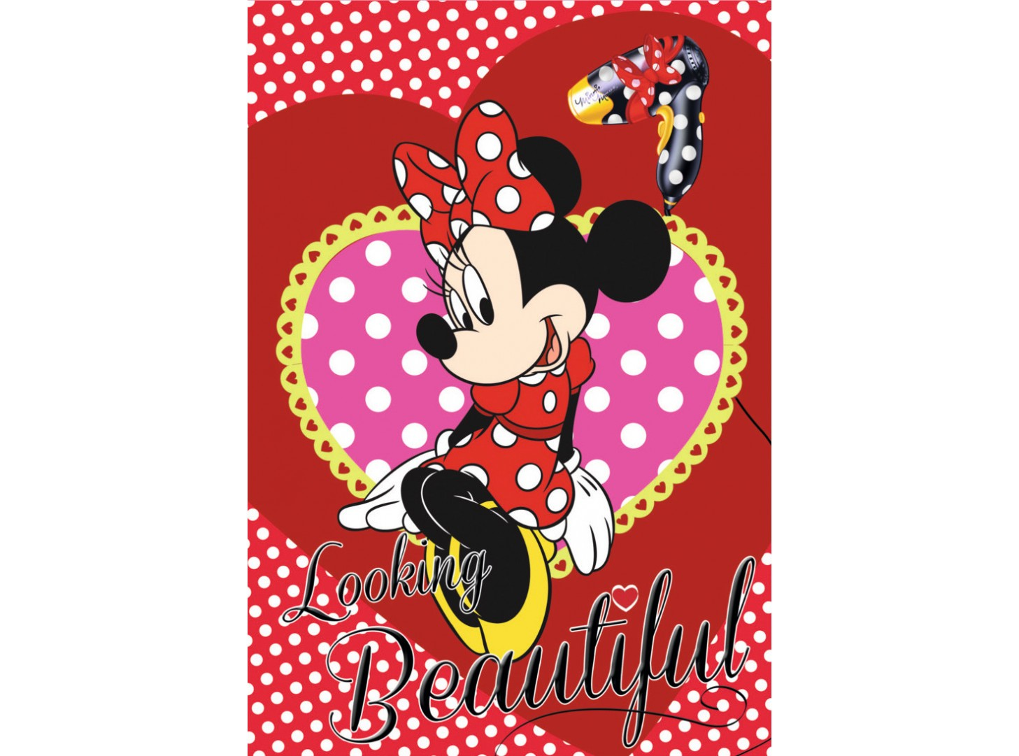 Tapete Minnie Mouse 85