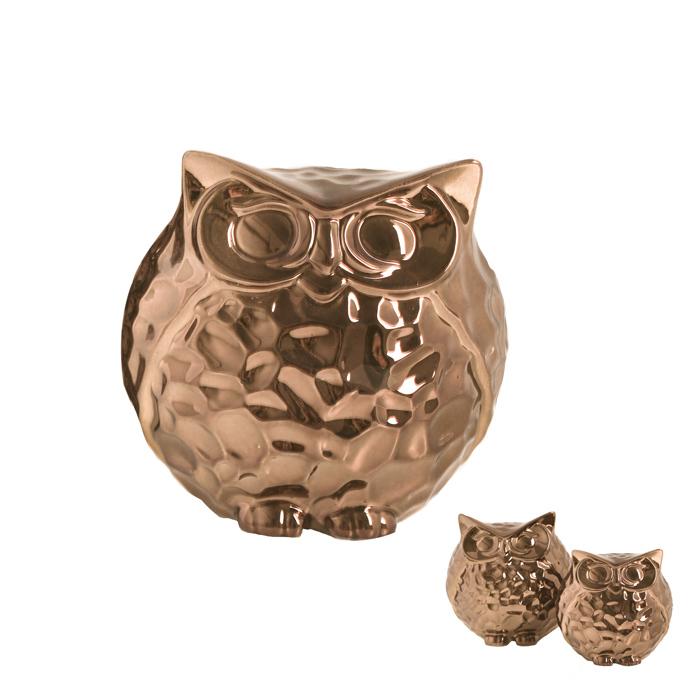 Mocho Decorativo Bronze