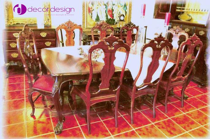 Mesa e Cadeiras D. João V