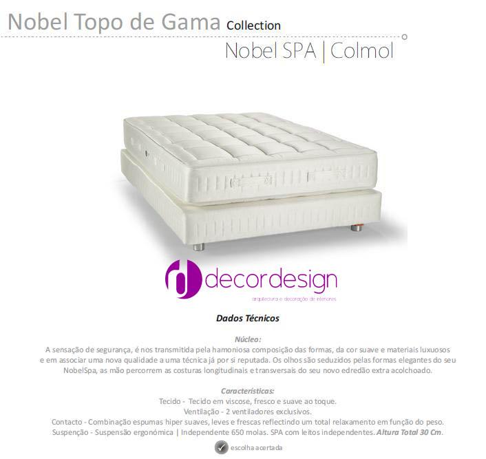 Colchão Nobel SPA Colmol