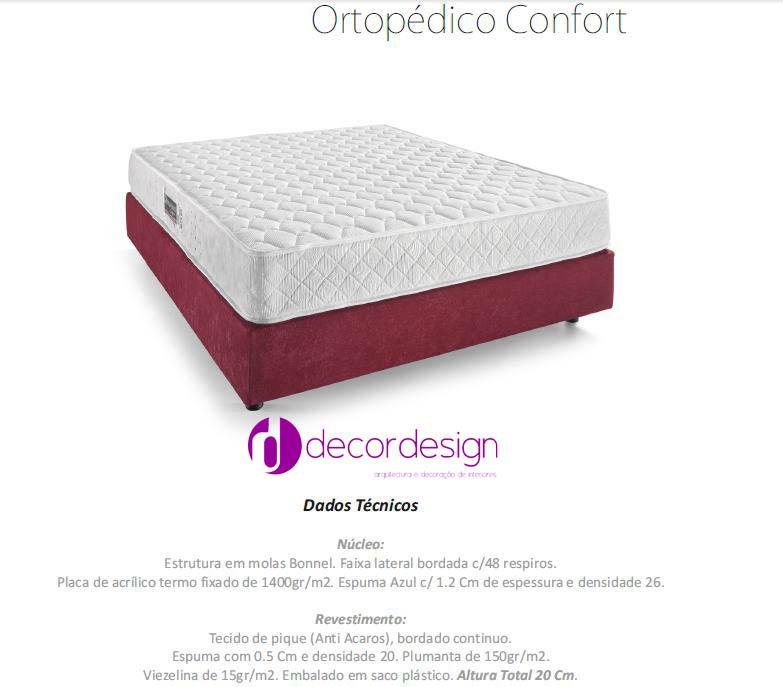 Colchão Ortopédico Confort