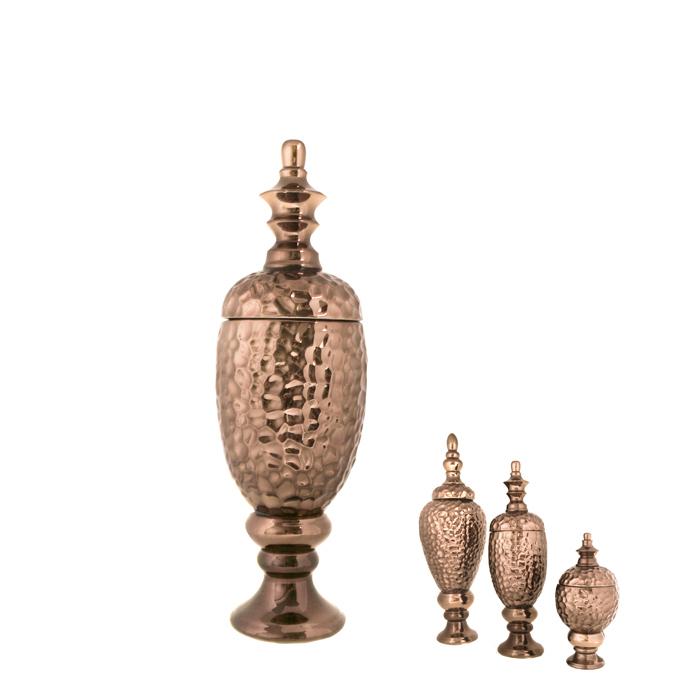 Pote Decorativo Bronze