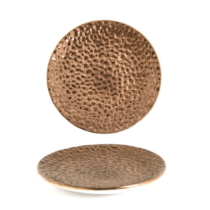 Prato Decorativo Bronze 01