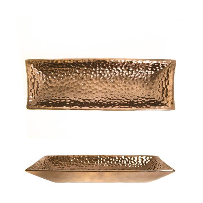 Prato Decorativo Bronze 02