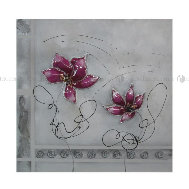 Quadro Flor Bufada 1