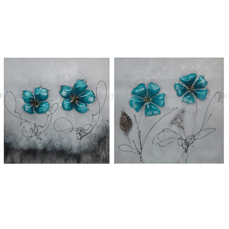 Quadro Flor Bufada 6
