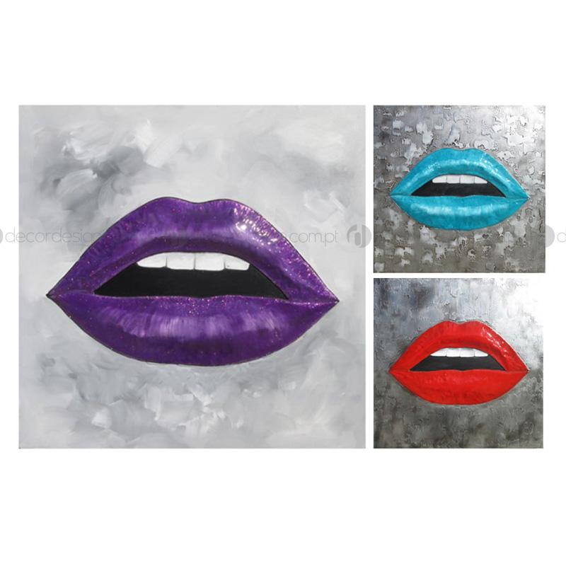 Quadro Lábios