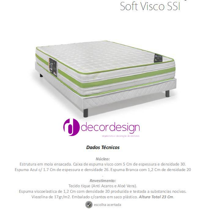 Colchão Soft Visco SSI