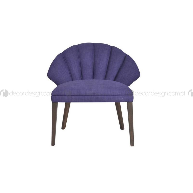 Cadeira Flower Violet
