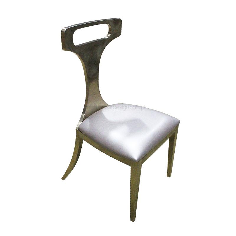Cadeira Inox Dourado