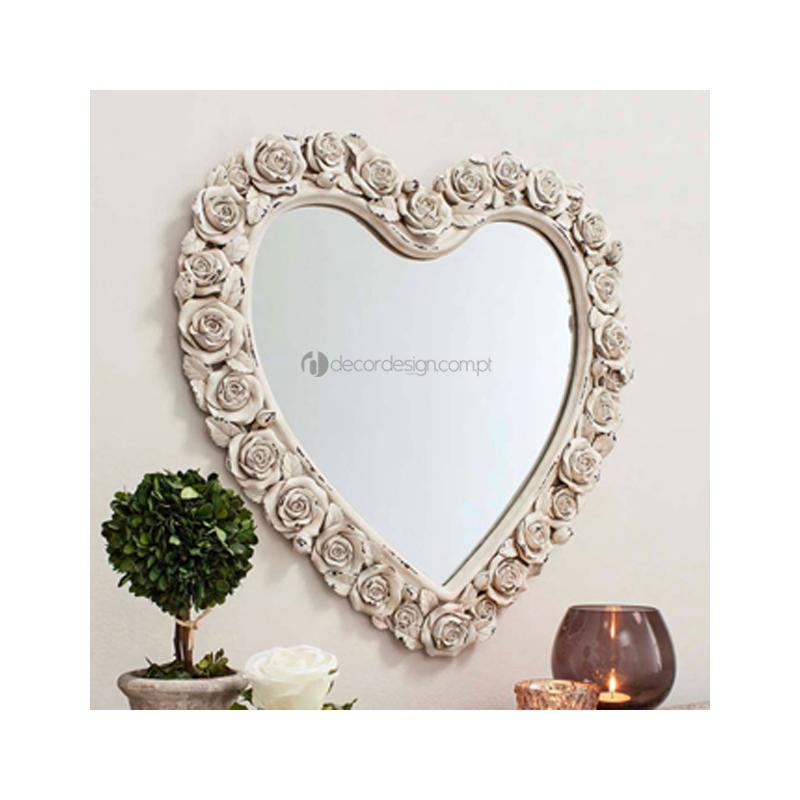 Espelho Roses Heart