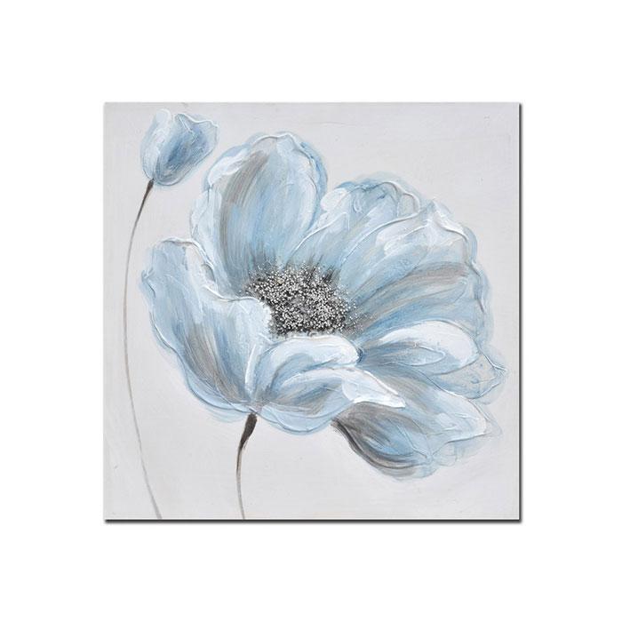 Quadro Decorativo Blue Flowers 01