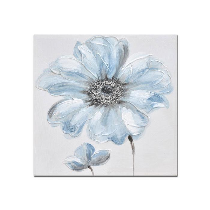 Quadro Decorativo Blue Flowers 02