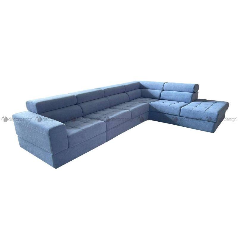 Sofá de Canto Selena Azul